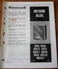 Honeywell Ra19a  Ra89a  R182a