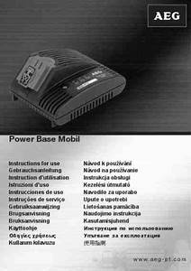 Aeg Power Base Mobil Accumulator   Rechargeable Battery