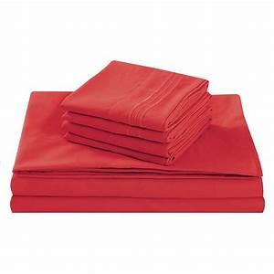Fifth, Avenue, Home, U0026, 39, Tango, Red, U0026, 39, Queen, Size, Bed, Sheet, Set