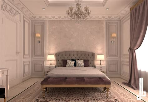 french classical villa classic style bedroom  dal design