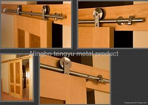 stainless steel barn door hardware ty079 tengyu china With barn door hardware for windows