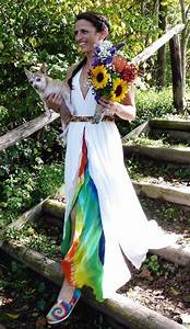 90 best tie dye weddings images on pinterest wedding With tie dye wedding gowns