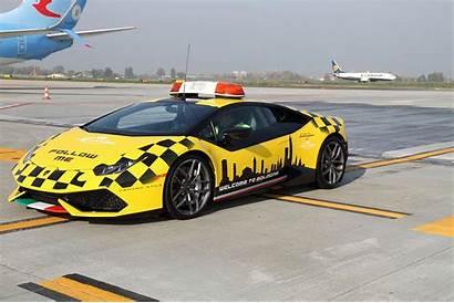 Huracan Lamborghini Follow Airport Centro Stile Yellow