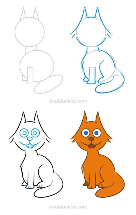comment dessiner un chat assis les 25 meilleures id 233 es de la cat 233 gorie comment dessiner un chat sur chat kawaii