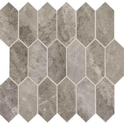 daltile marble attache linear hex mosaic crux
