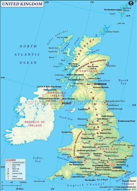 special  uk map