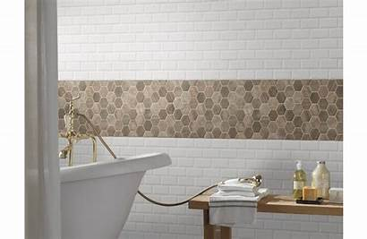 Driftwood Hexagon 6mm Glass Tile Mosaic Tiles