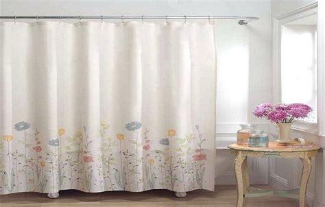 Threshold Shower Curtains Fun Floral Curtain Print Blue