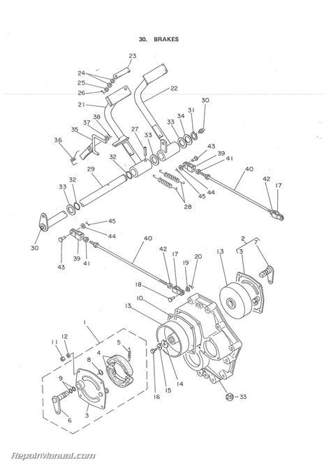Yanmar Ymd Diesel Tractor Parts Manual