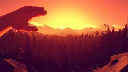 Firewatch Games Wallpapers Santo Campo Artwork 4k