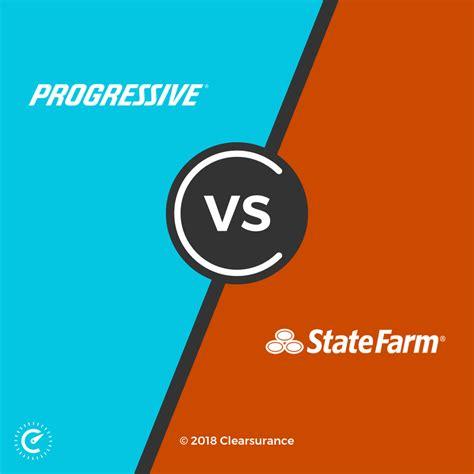 progressive  state farm consumer ratings  rates