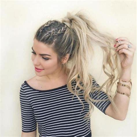 attractive ponytail hairstyles  women