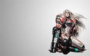 Samus, Aran, Metroid, Prime, Plugsuit, Armor, Girl, Sci, Fi, Wallpapers, Hd, Desktop, And, Mobile