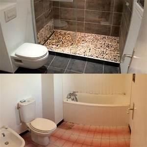 Baignoire Douche Italienne : remplacer sa baignoire par une douche l 39 italienne lyon plomberie et chauffage lyon kba ~ Melissatoandfro.com Idées de Décoration
