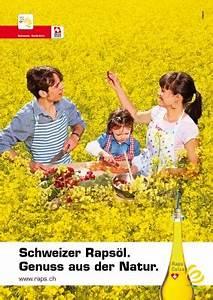 Wie Gesund Ist Rapsöl : wapico neue sujets f r schweizer raps l werbung ~ Eleganceandgraceweddings.com Haus und Dekorationen