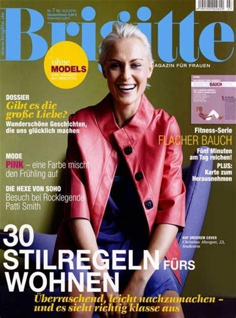 Brigitte Abo  Brigitte Zeitschrift im Abonnement mit Prämie
