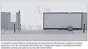 Motorisation Somfy Portail Coulissant : kit motorisation portail coulissant 230v 500 ou 800kg maxi ~ Edinachiropracticcenter.com Idées de Décoration