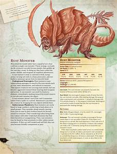 The Rust Monster  A History And Preview From The Dungeons