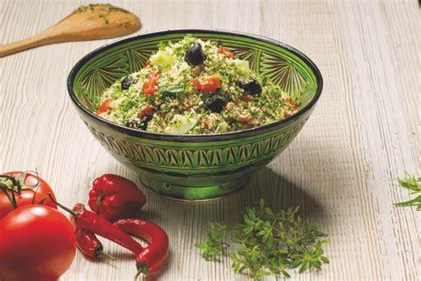 recette taboule mediterraneen au couscous moyen le renard
