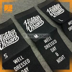 300 clothing labels woven labels custom woven clothing With custom shirt tag labels