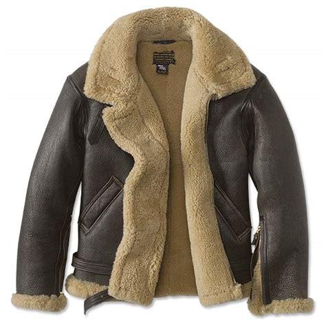 jacket bomber shearling raf orvis