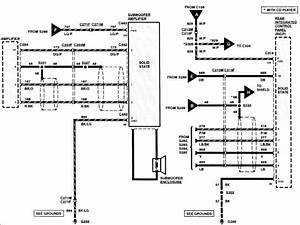 Wiring Diagram  33 2004 Lincoln Navigator Radio Wiring Diagram