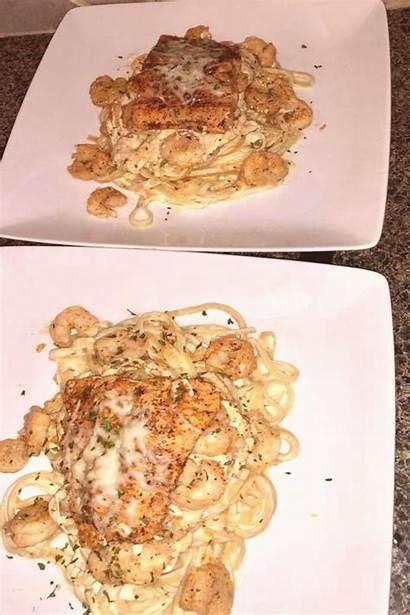 Salmon Shrimp Alfredo Recipes Stuffed Pasta Chicken