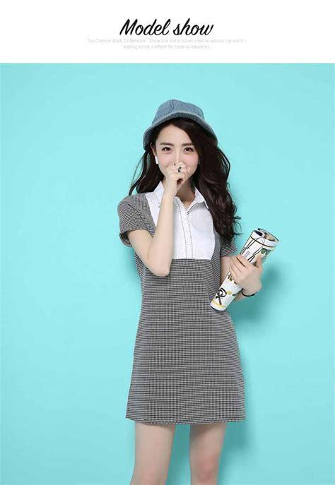 rok wanita modis rok 154 dress lengan pendek simple modis 2016 myrosefashion