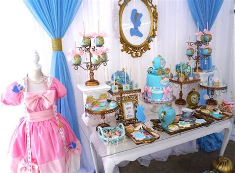 Princess Centerpieces Baby Shower