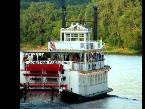 Paddleford Boat by Mississippi River Boat Jonathan Paddleford