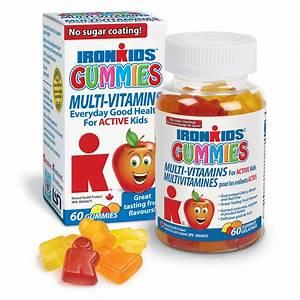 IronKids Gummies Multi-Vitamins for Active Kids 60 gummies ...