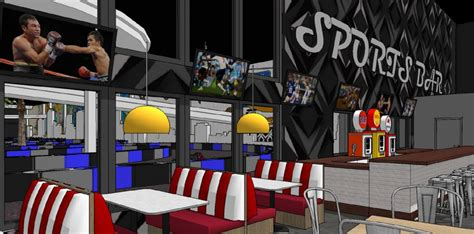 xtreme action park family entertainment center  design