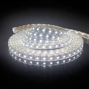 Led Leiste 230v : 230v led strip streifen leiste lichterkette 60 leds m warmwei kaltwei ip65 ebay ~ Eleganceandgraceweddings.com Haus und Dekorationen