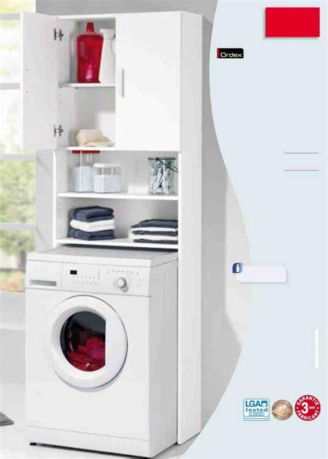 meuble pour machine laver fonctionnel accueil design et