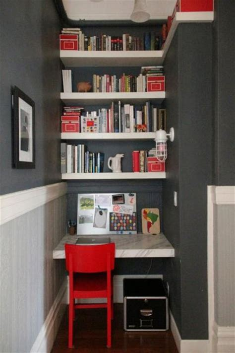 small home storage ideas 22 space saving ideas for small home office storage