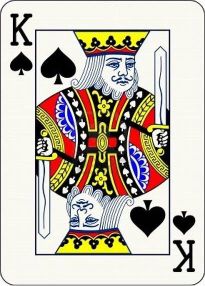 King Card Playing Spades Cards Face Classic