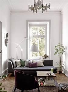 Association Couleur Gris : jolie association de couleurs gris violet bleu salon s jour decoration sejour d co ~ Melissatoandfro.com Idées de Décoration