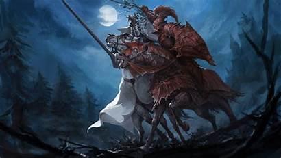 Warhammer Knight Fantasy War Artwork Total Horse