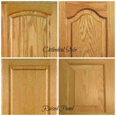 raised panel oak kitchen cabinets how to update oak or wood cabinets cathedral or raised panel