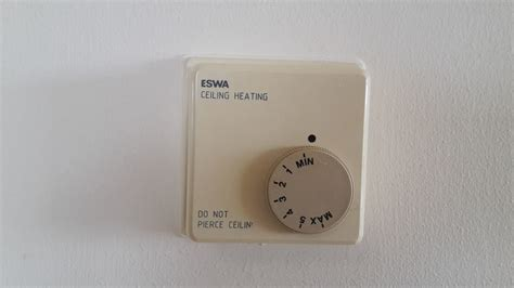 eswa ceiling heating  timersmart thermostat