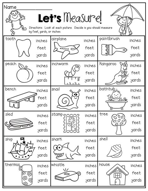 8 best images of measuring inches worksheets measuring inches feet yards metric liquid