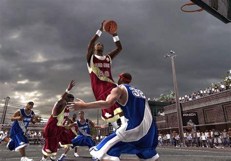 glacier gaming basketball video games  retrospective