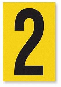 engineer grade reflective adhesive numbers letters label With reflective adhesive letters