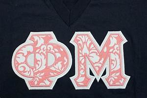 best 25 sorority letter shirts ideas on pinterest greek With phi mu stitched letters