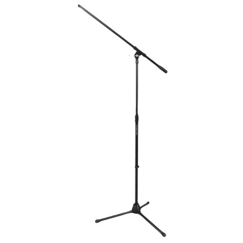 on stage fixed boom drum mic stand ms7701b black microphone stands best buy