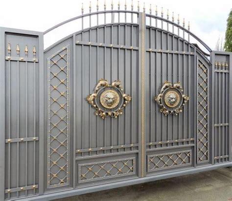 gate designs stunning gray gold gate design ideas for modern home decor ideas gate pinterest gold gate