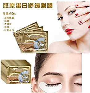 Amazon.com : 50 Pairs Collagen Crystal Under Eye Patch