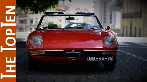 Alfa Romeo Models by The Top Ten Best Classic Alfa Romeo Models