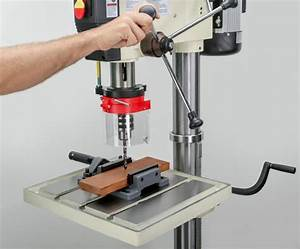 SHOP FOX M1039 20-Inch Drill Press - Power Stationary