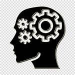 Icon Mind Thought Marketing Symbol Gear Transparent